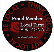Proud Member Local First ARIZONA!